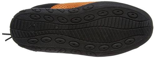 Beco–Scarpe da Bagno/Surf bambini Multicolore (Nero/Arancione)