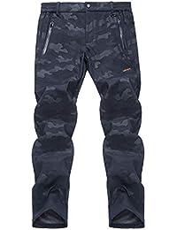LHHMZ Pantalones de Lana para Hombre Pantalones de Andar Pantalones de  Invierno Impermeables Pantalones de Camuflaje db9cf590b06