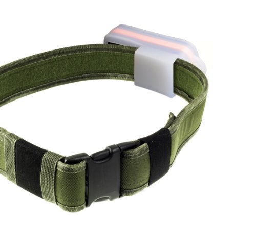 Incutex Gürteltasche/Schutzhülle / Transporttasche/Tasche / Schutz mit Schlaufe, Hülle aus transparentem Gummi für GPS Tracker TK5000