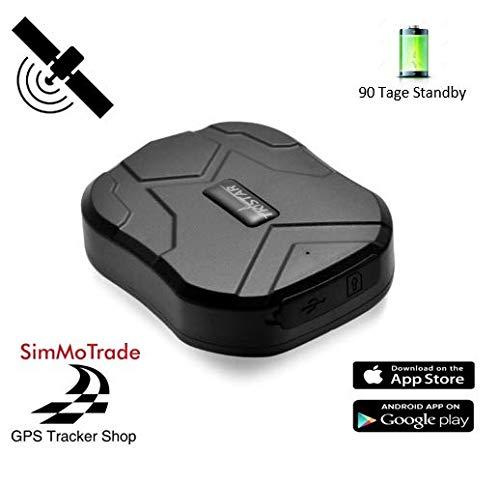Simmotrade® TKSTAR 905 GPS KFZ Tracker # MIT SIM KARTE #, der perfekte Diebstahlschutz für ihr Fahrzeug. Der Tracker und die Sim Karte werden von uns bereits fertig eingerichtet. Deutscher GPS Tracker Shop, deutsche Beschreibung, Telefon Support