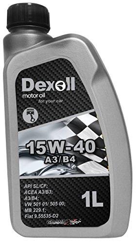 Dexoll PKW Motoröl 15W-40 geeignet für Benzin- und Dieselmotoren, 1 Liter