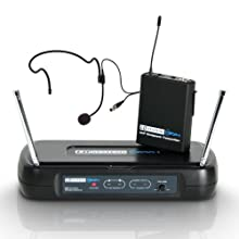 LD-Systems 2 - Set with Radio Microphone System, Headphones Included Frequency 863.9 MHz Taglia unica