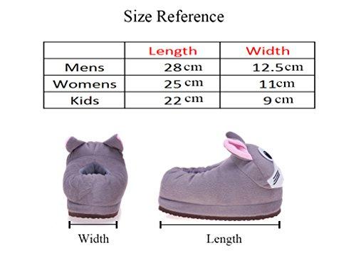 Youjia zapatillas de casa invierno animales zapatos de for Casas zapatos ninos