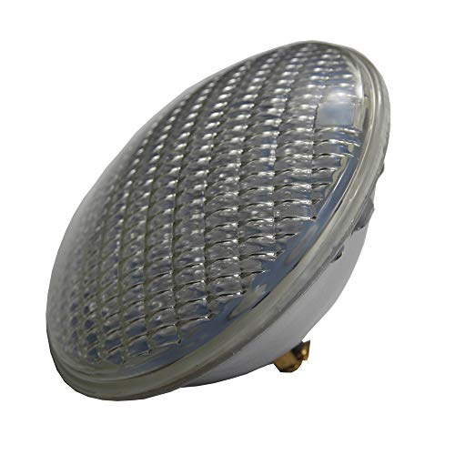PAR56 LED Bombilla Lampara Par 56 LED 36W 12V AC piscina Iluminacion RGB IP68 LED Underwater Light Pond Lights (Blanco Calido)
