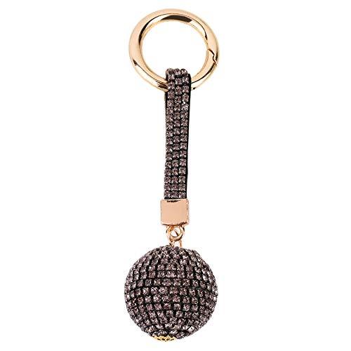 Clockeikan Runde Kugel-Art-Diamant zogene Art und Weise Neue Art und Weise Shinning Car Bag Schlüsselanhänger