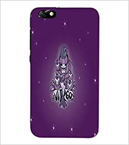 PrintDhaba Zodiac Virgo D-5494 Back Case Cover for HUAWEI HONOR 4X (Multi-Coloured)