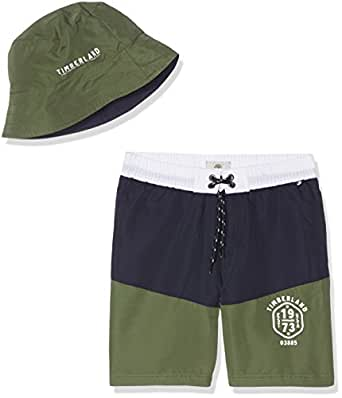 timberland boy 39 s t24969 swim shorts hat green vert kaki 14 years clothing. Black Bedroom Furniture Sets. Home Design Ideas