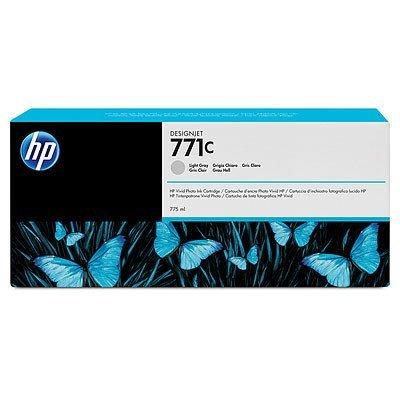 HP 771C 775ml Light Gray DesignJet Ink Cartridge (Light 775-ml)