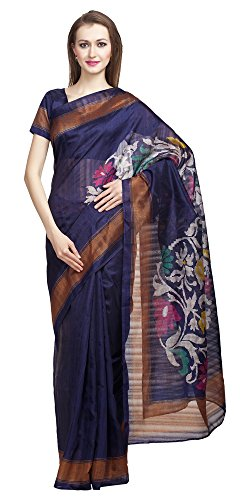 Divyaemporio Bhagalpuri Art Silk Saree (Dev-10915_Blue)