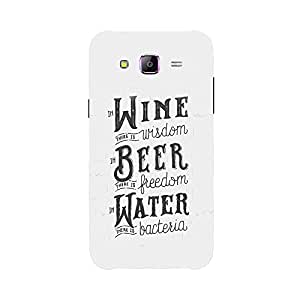 Back cover for Samsung Galaxy J7 Wine, Beer, Water