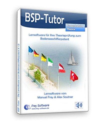 BSP-Tutor - Lernsoftware Bodenseeschifferpatent A (Motor) + D (Segeln) (Fragenkatalog Theorie)