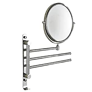 double sided bathroom mirror liehu home makeup mirror wall mounted sided make 18183