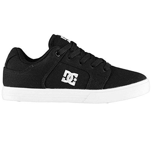 DC Method Kinder Skate Schuhe Turnschuhe Sneaker Freizeit Skateboardschuhe Schwarz