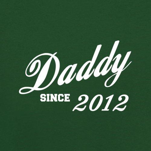Papa seit 2012 - Herren T-Shirt - 13 Farben Flaschengrün