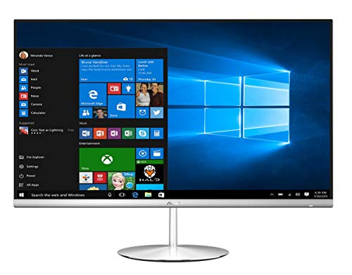 ASUS Zen AiO ZN242IFGK-CA013R 2.5GHz i5-7300HQ Intel® CoreTM i5, 23,8 Zoll 1920 x 1080Pixel Weiß PC All-in-one