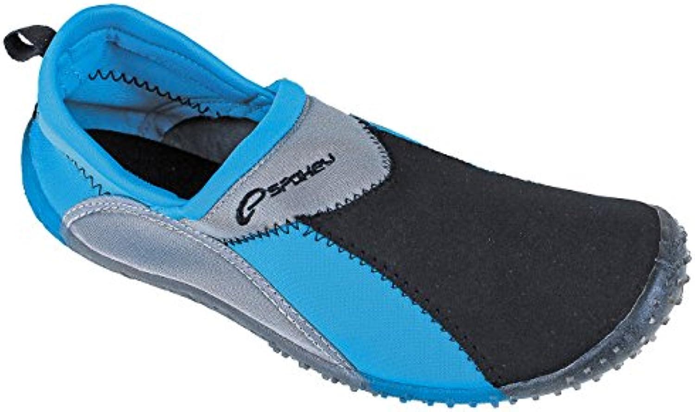 Spokey surf zapatillas de baño surf adulto zapatos blau und grau Talla:44