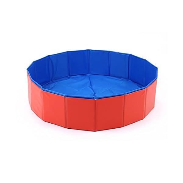 Foldable Large Dog Pet Pool Bathing Tub 5