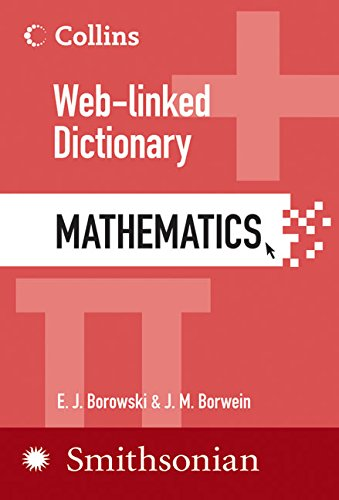 Collins Web-Linked Dictionary of Mathematics por E. J. Borowski