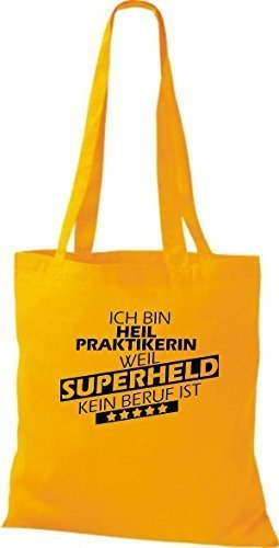 Shirtstown, Borsa tote donna Yellow