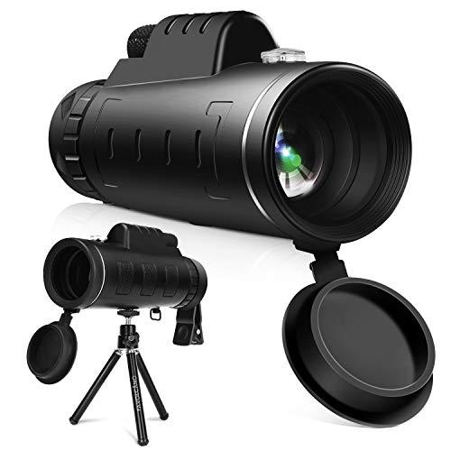 YISSVIC Telescopio Monocular 12 X 55 HD Zoom óptico