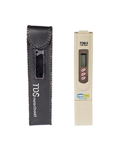 Aqualogis Digital Portable TDS mètre testeur de dureté de l'eau de qualité de test 3 en 1