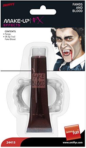 Smiffys 24415 Vampirzähne und Blut