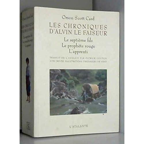 Les Chroniques d'Alvin le faiseur - 3 premiers livres