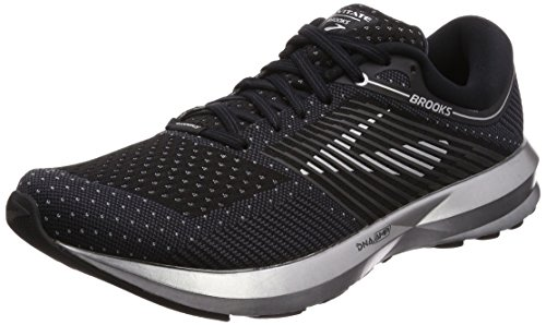 Brooks Levitate, Zapatillas de Running Para Hombre, Negro (Black/Ebony/Silver 1d004), 44 EU