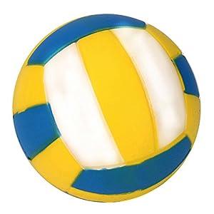 beautijiam Slow Rising Spielzeug, Simuliert Volleyball Squeeze Spielzeug Dekompression Spielzeug Stress Relief Geschenk für Kinder Erwachsene