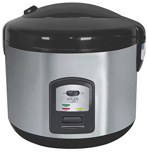 Capacidad: 1.5L Potencia: 1000W Carcasa tacto frío Depósito desmontable 2 funciones: cocer y mantener caliente Base antideslizante Incluye: taza para medir y cuchara de plástico