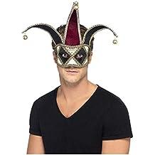 Horror-Shop Arlequín máscara para los ojos veneciana bdb4db0caf6