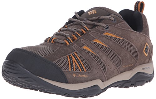 Columbia Herren North Plains Drifter Waterproof Trekking-& Wanderstiefel, Braun (Mud / Canyon Gold), 43 EU