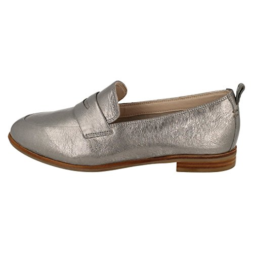Alania Belle - Silver Metallic Argent