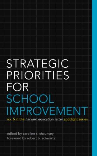 Strategic Priorities for School Improvement: No. 6