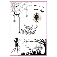 huihuay Happy Halloween DIY Silicone Clear Stamp Cling Seal Scrapbook Embossing Album