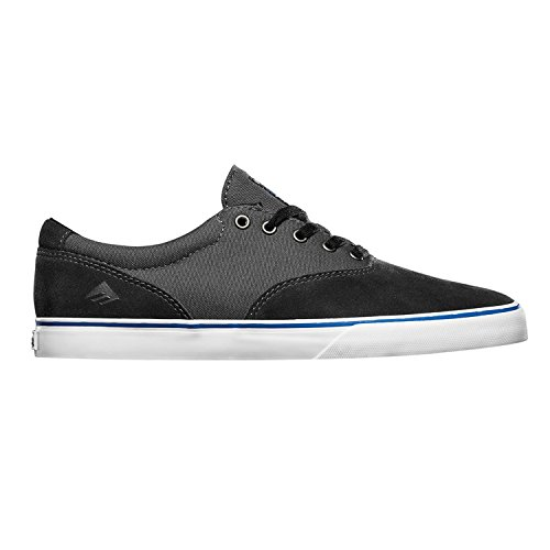 Emerica Provost Slim Vulc X Toy Machine, Skateboard homme Black Grey
