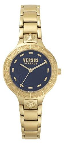 Versus by Versace Femme Analogique Quartz Montre avec Bracelet en Acier Inoxydable VSP480618