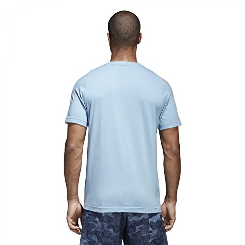 adidas Herren Sport Id Branded T-Shirt hellblau