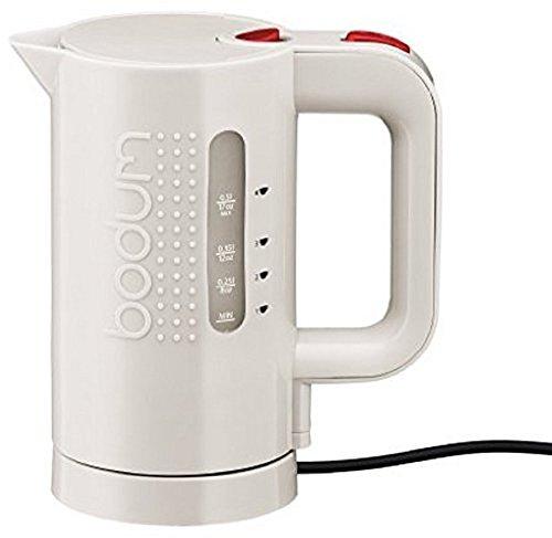 Bodum 11451-913, Bollitore elettrico, 0.5 L, colore: Bianco