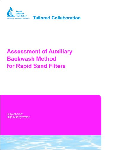 Assessment of Auxiliary Backwash Method for Rapid Sand Filters - Sand Filtration Wasser