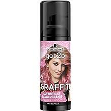 Got2b Unicorn Rosa Graffiti Spray Haarfarbe, 3er Pack(3 x 120 ml)