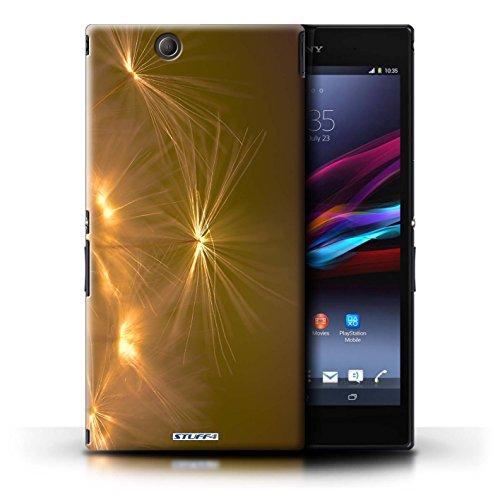Kobalt® Imprimé Etui / Coque pour Sony Xperia Z Ultra / Rouge conception / Série Allumez la vie Orange