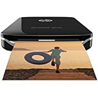 HP Sprocket Plus Photo Printer - Black