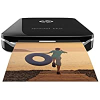 HP Sprocket Plus Photo Printer - Black