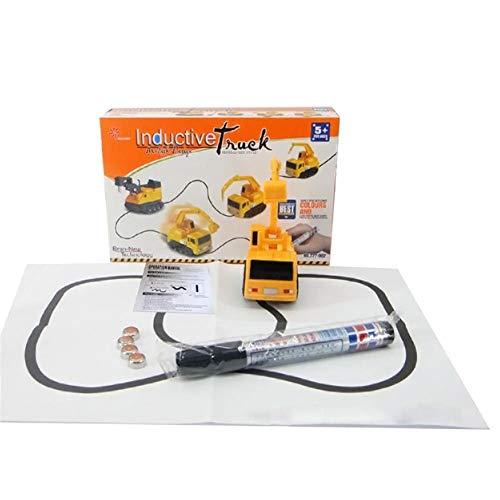 Magic Pen Inductif Véhicule Véhicule Jouet Suivant Black Line Rail Induction Rail Wagon pour bébé et Enfants Cadeau (1 pièce, Envoyer au Hasard)