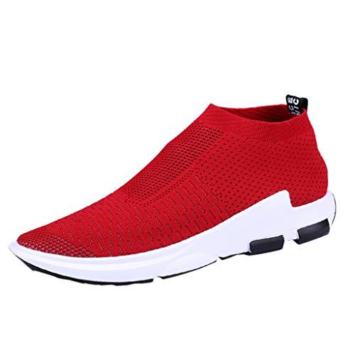 Oyedens Scarpe Antinfortunistica Uomo Donna Estive Scarpe da Lavoro con Punta in Acciaio Comode Sneaker Traspiranti