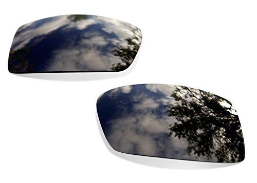 sunglasses restorer Kompatibel Ersatzgläser für Oakley Gascan, Polarisierte Grey Linsen