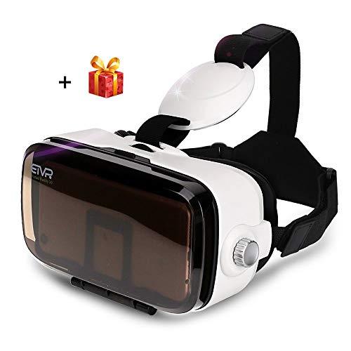DJGHPWP VR Z4 Min VR Box i Schutzbrillen der virtuellen Realität 3D Immersive Pappdaydream...