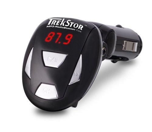 TrekStor MP3-RadioStation (FM-Transmitter) f.ox für alle TrekStor MP3 Player