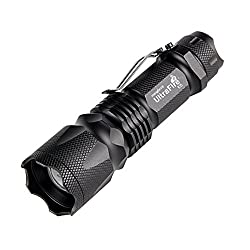 Ultrafire Torch Pocket Torch Led Torch,u5,ultra Bright 7w 300 Lumens,adjustable Focus Small Torch Tactical Flashlight Tactical Torch Mini Torch Light Lamp(1 Pack)